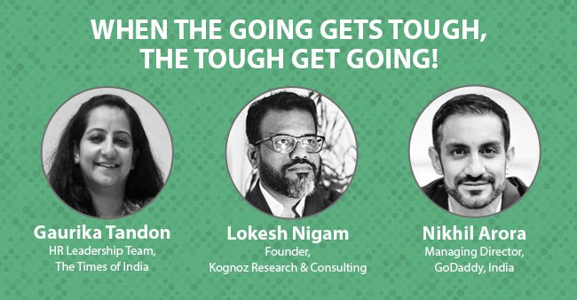 When The Going gets tough, the tough get going!
